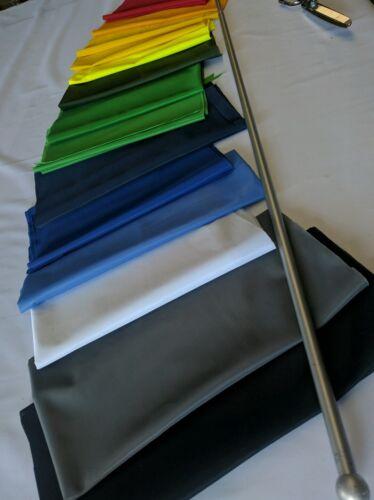 Bleu Marine Bleu-Tissu Drapeau Matériau Tissu-Polyester 150 cm large 117 GSM