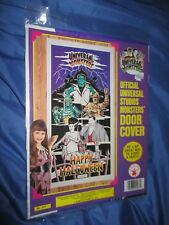 UNIVERSAL MONSTERS Rubies Door Cover ~Dracula/Mummy/Wolf Man/Bride Frankenstein & 1993 Universal Studios Monsters Door Cover Frankenstein Dracula | eBay pezcame.com