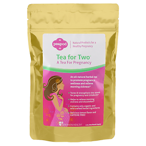 Details about PeaPod Tea-for-Two Pregnancy Tea Natural Organic Morning  Sickness