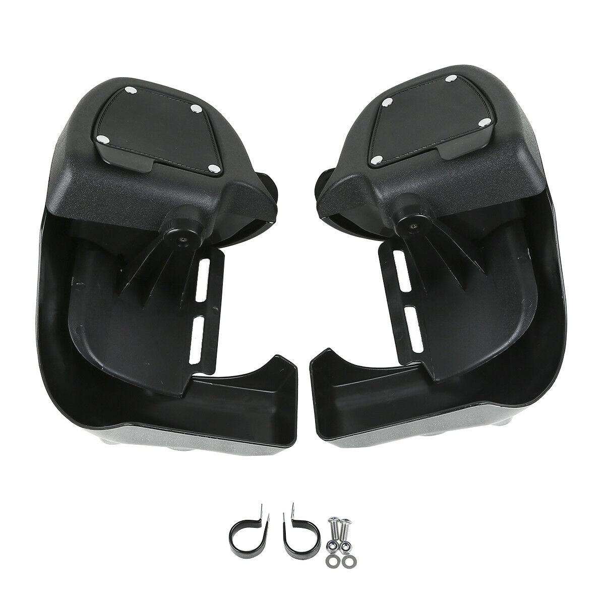 TCMT Unpainted ABS Lower Vented Leg Fairings Fit For Harley Touring Road Glide 83-13