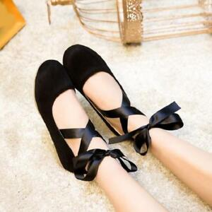 Casual Round Toe Faux Suede Girls Comfy