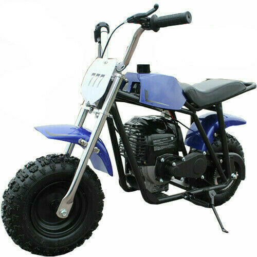 New 40cc Gas Powered Mini Bike - 4 colors - off-road dirt tires free  shipping