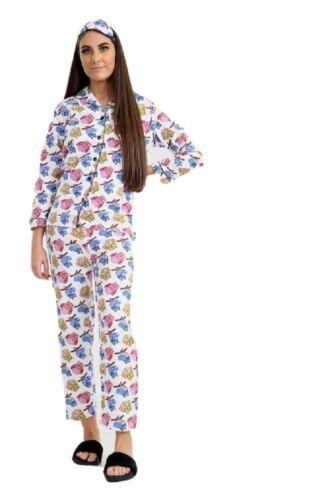 Womens Wincyette Wincy 100/% Pure Cotton Brushed Warm Pyjamas