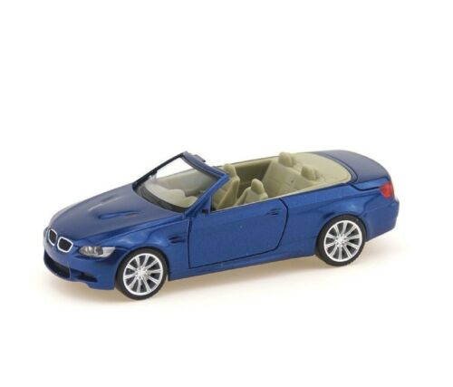 Metallico-NUOVO Herpa 033954-h0 OVP BMW m3 Cabrio
