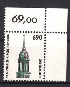 BRD-SWK-1860-postfrisch-Eckrand