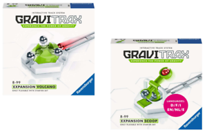 Ravensburger Gravitrax Marble Track System Expansion Set - Scoop + Volcano [NEW]