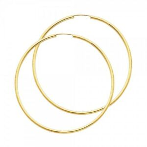 Image Is Loading 14k Real Yellow Gold 2mm Extra Large Endless
