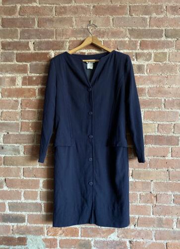 Vintage Courreges Womens Dress Sz 40 France, 100%