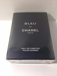 Bleu De Chanel Eau De Parfum Pour Homme Spray 34oz 100ml New In