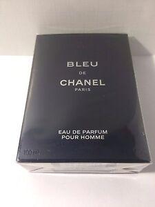 Details About Bleu De Chanel Eau De Parfum Pour Homme Spray 34oz 100ml New In Box