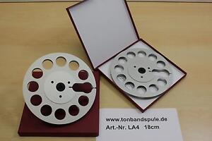 Tonbandspule-1-Paar-18-cm-fuer-Sony-Akai-Grundig-Revox-Teac-NEU-Nr-LA4