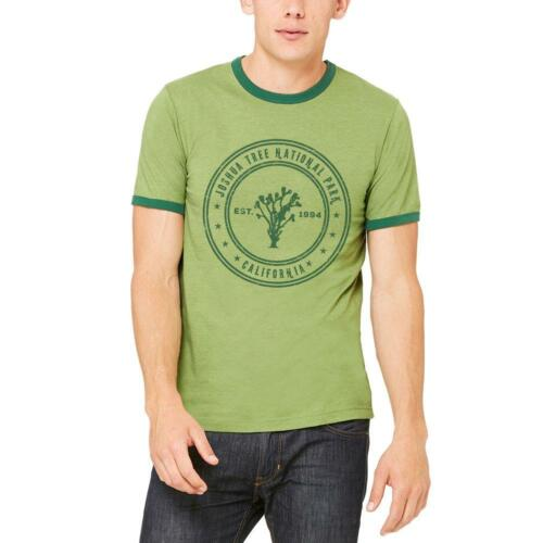 Joshua Tree National Park Vintage Mens Ringer T Shirt