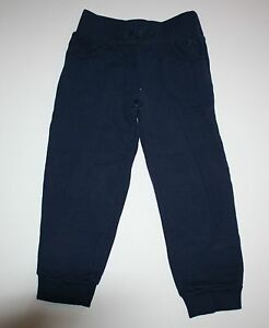 New-Gymboree-Navy-Blue-Pull-On-Fleece-Pant-Size-6-Year-Comfy-Pants-Play-By-Heart