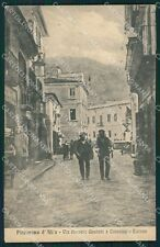Caserta Piedimonte Matese d'Alife cartolina XB3785