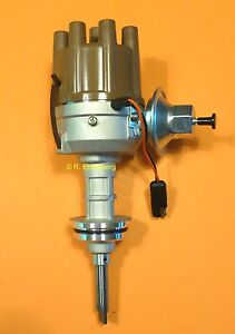 Mopar-Electronic-Ignition-Distributor-B-Engine-Plymouth-Dodge-Chrys-NOS-Tan-Cap