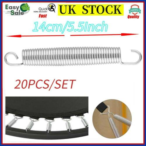 """20* Trampoline Springs Replacement Part Heavy Duty High Quality Steel 5.5/"""" Inch"""