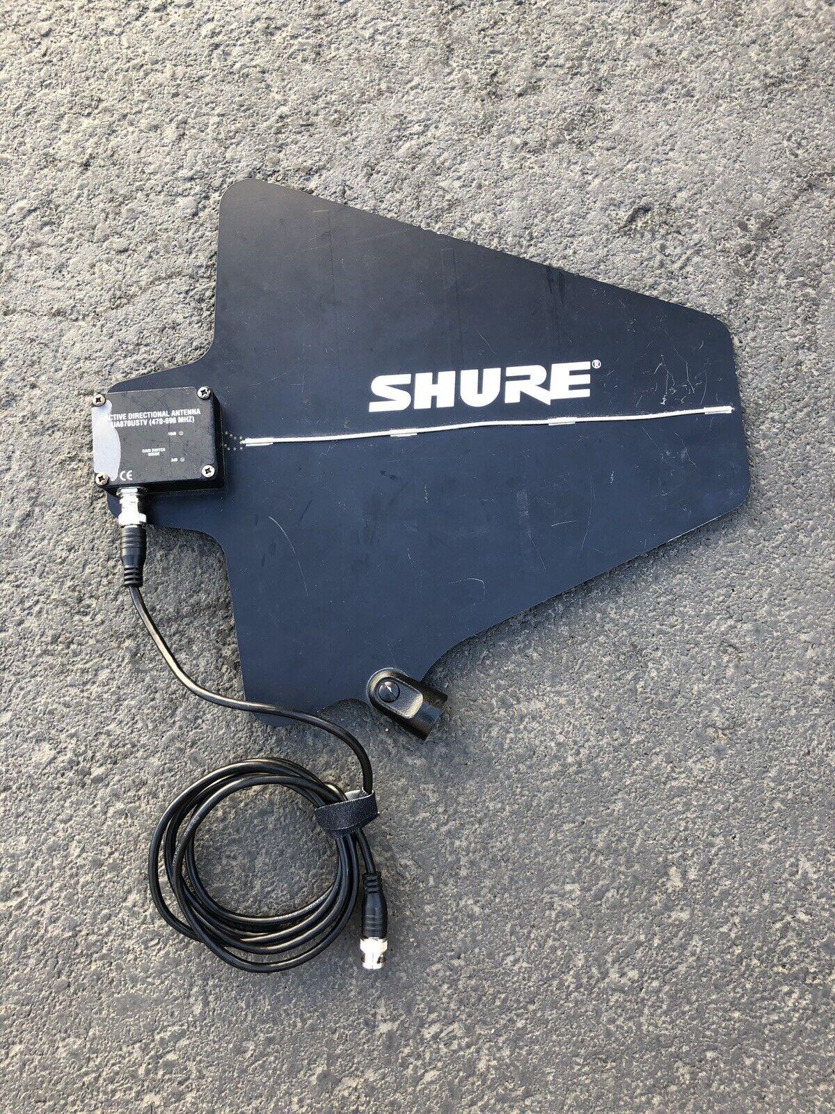 Shure Active Direction Antenne 470-698 Mhz verwendet