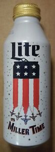 16-oz-Miller-Lite-Aluminum-Bottle-Beer-Can-LE-USA-Flag-FREE-SHIPPING-in-USA