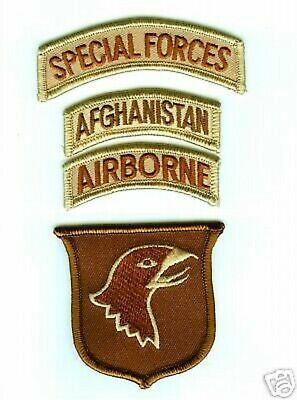 US Army Afghanistan War Taliban Hunting Embroidered Patch ** LAST FEW **