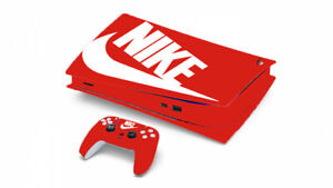 NIKE BOX LOGO VINYL WRAP SKIN FOR PS5 PLAYSTATION *DISC VERSION*