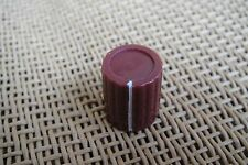 """40pc Marconi Red Pre-Amplifier Rotary 1/4"""" Pointer Knob For Guitar Pedal Effects"""