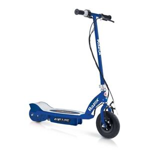 Razor-E125-Kids-Ride-On-24V-Motorized-Battery-Powered-Electric-Scooter-Toy-Blue