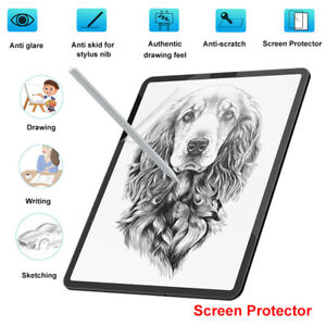 Paper-Anti-Glare-Matte-PET-Screen-Protector-Cover-for-iPad-pro-9-7-11-10-5-12-9
