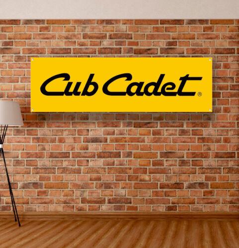 Cub Cadet Vinyl Banner Sign Garage Workshop Adversting Flag Poster Free Shipping