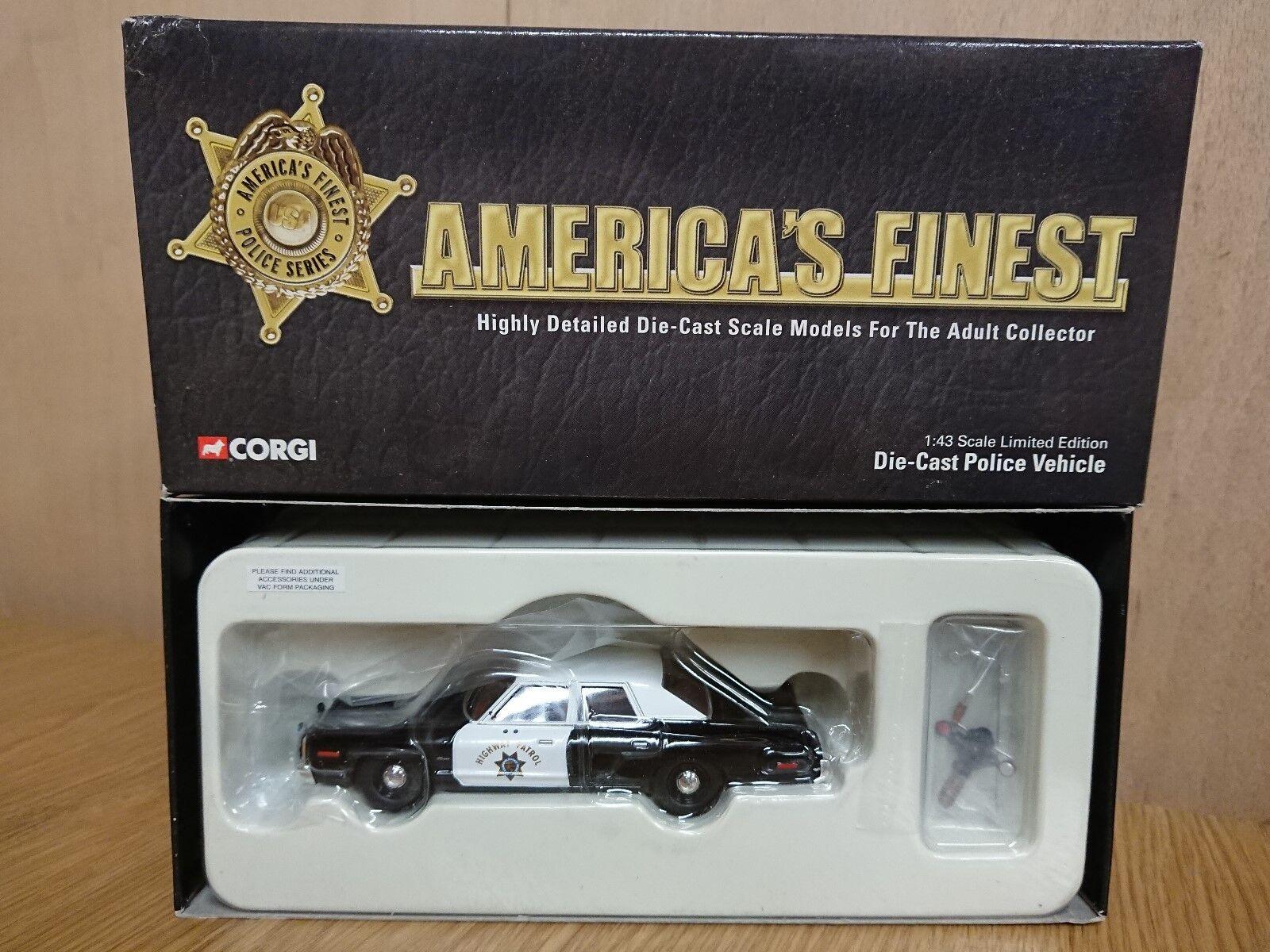 CORGI US06005 America's Finest Dodge Monaco California Highway Patrol LTD ED.