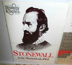 Strategy-amp-Tactics-Mag-w-Game-S-amp-T-67-Stonewall-in-the-Shenandoah-1862-UNP-039-78