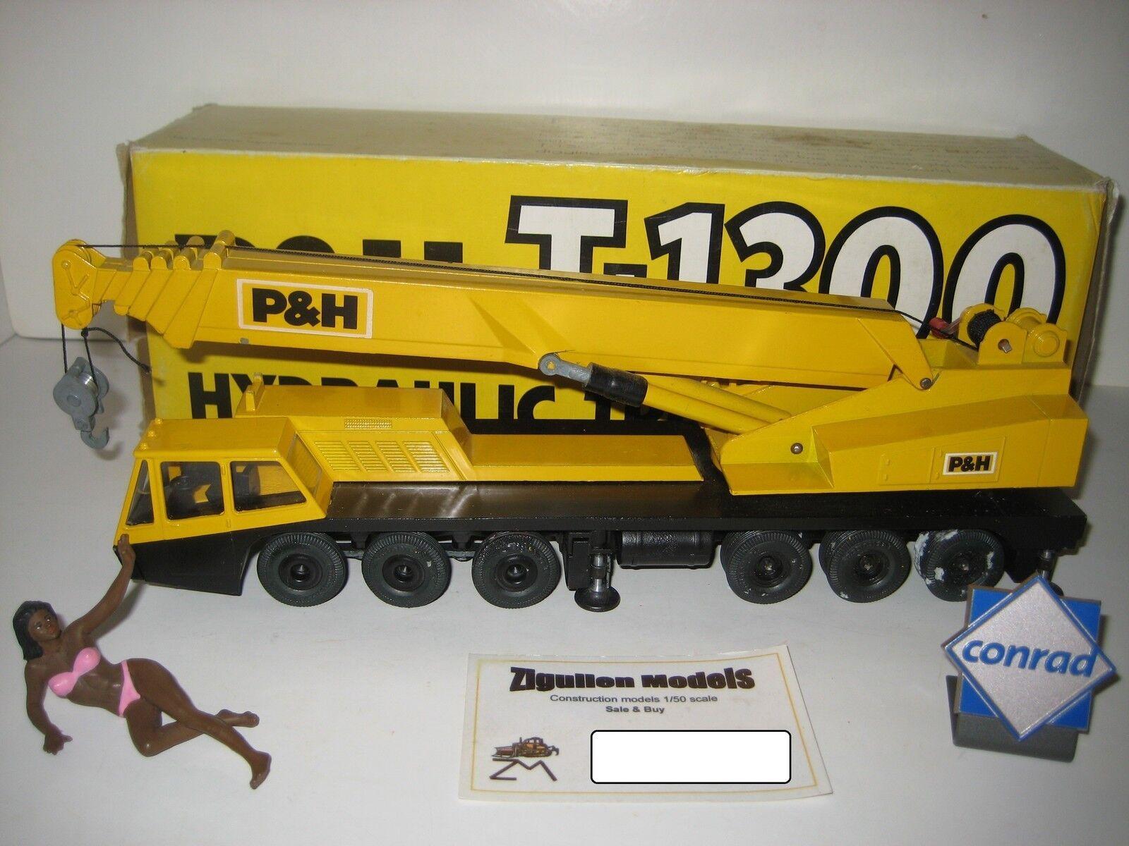 P&h t-1300 Autokran métal jantes  3071.2 d'1 50 Neuf Dans Sa Boîte