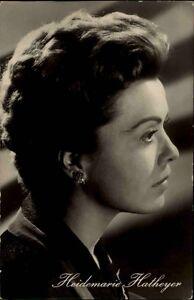 Progress-Starfoto-DDR-1955-60-Schauspielerin-Actor-Film-Heidemarie-HATHEYER