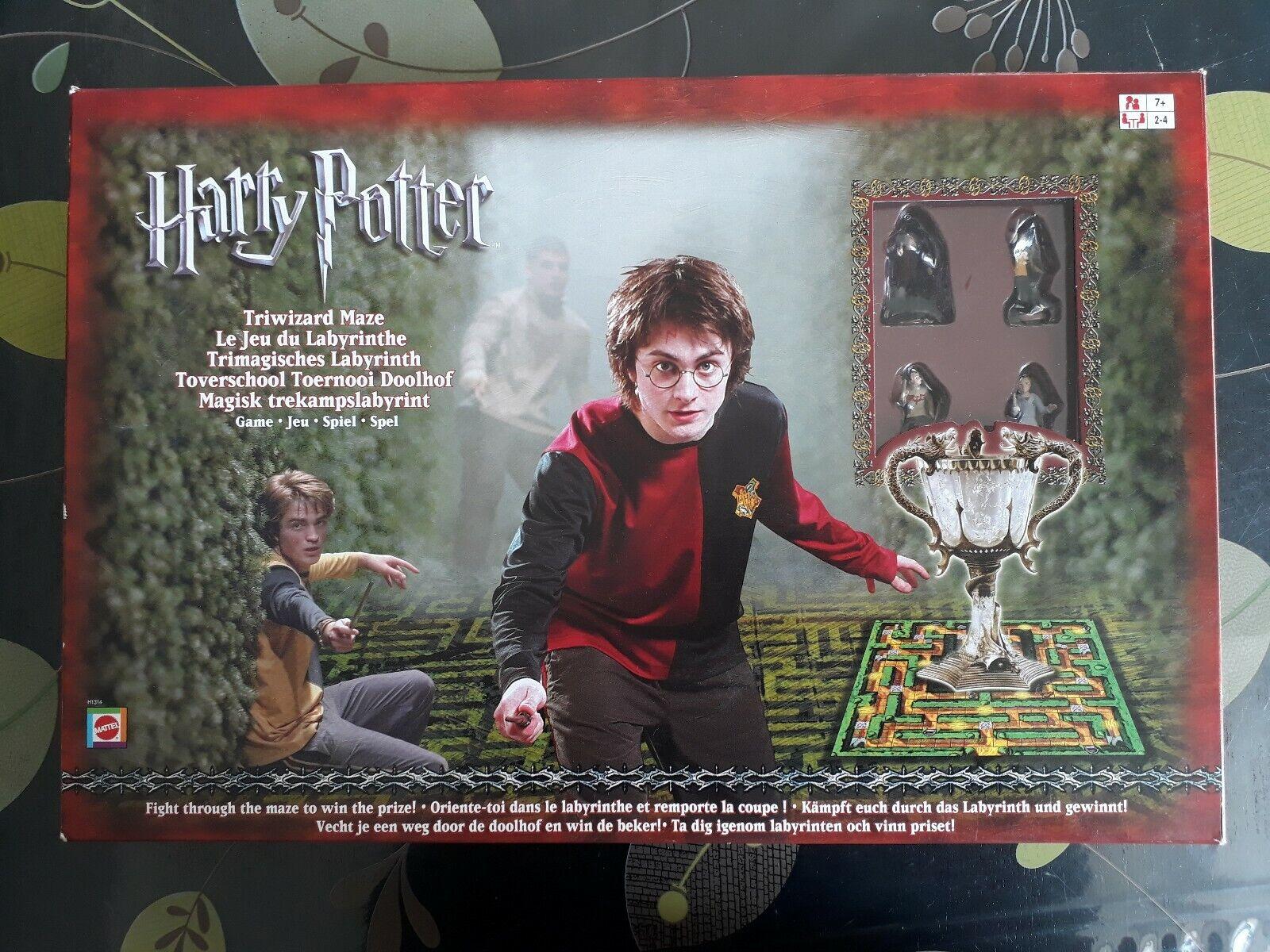 Jeu de société Harry Potter - Jeu du Labyrinthe - COMPLET