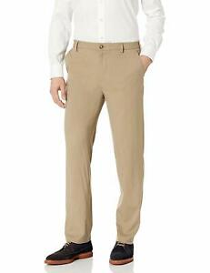 Van Heusen Mens Air Straight Fit Flat Front Chino Pant