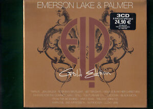 EMERSON-LAKE-E-PALMER-GOLD-EDITION-COLLECTION-BOX-3-CD-NUOVO-SIGILLATO