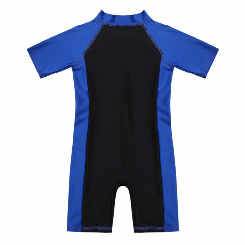 Baby Boy Girls Swimsuit One Piece Surfing Suit Beach Swimwear Rash Guard UPF 50+