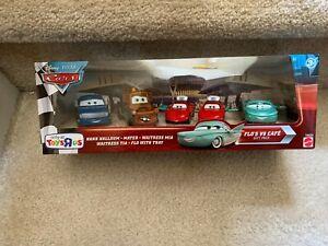 Disney-Pixar-Cars-Diecast-Flo-039-s-V8-Cafe-5-Car-Gift-Pack-New-In-Box-Toys-R-Us