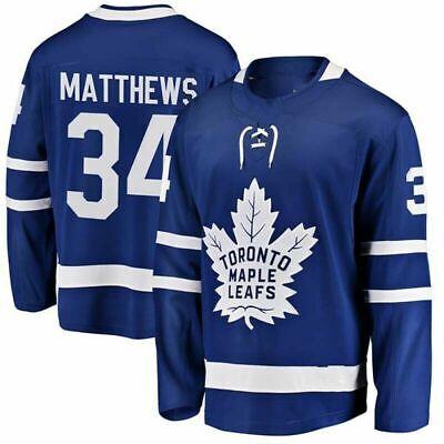 Auston Matthews 34 Toronto Maple Leafs