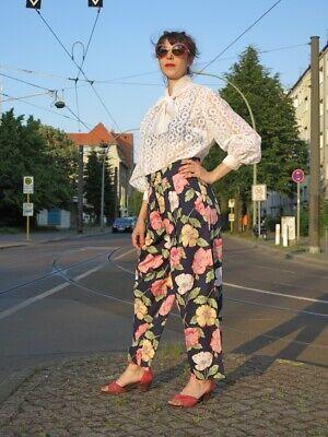 Qualificato Windsor By Pantalon Westerlmd Kampen Fiori Pantaloni 90er True Vintage Women's Pants-mostra Il Titolo Originale I Colori Stanno Colpendo