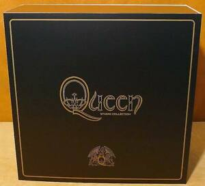 QUEEN-Studio-Collection-NEW-Limited-18-x-Vinyl-LP-Box-Set-Virgin-EMI-Records