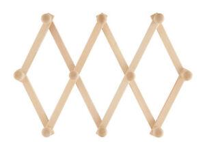 Appendiabiti-Appendipanni-Da-Parete-Legno-10-Posti-A-Fisarmonica-Estensibile-dfh