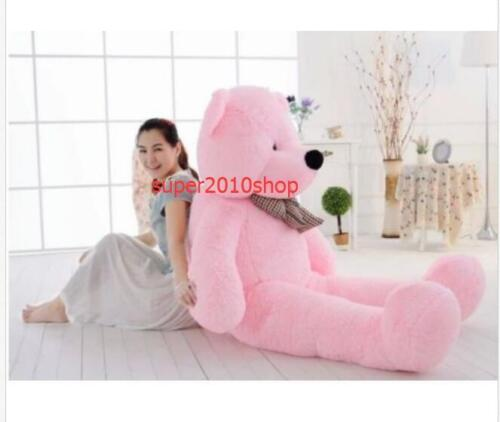 "78/""200cm /""pink/""Teddy Bear Giant Huge Big Stuffed Animal Plush Soft+EMS SHIP"