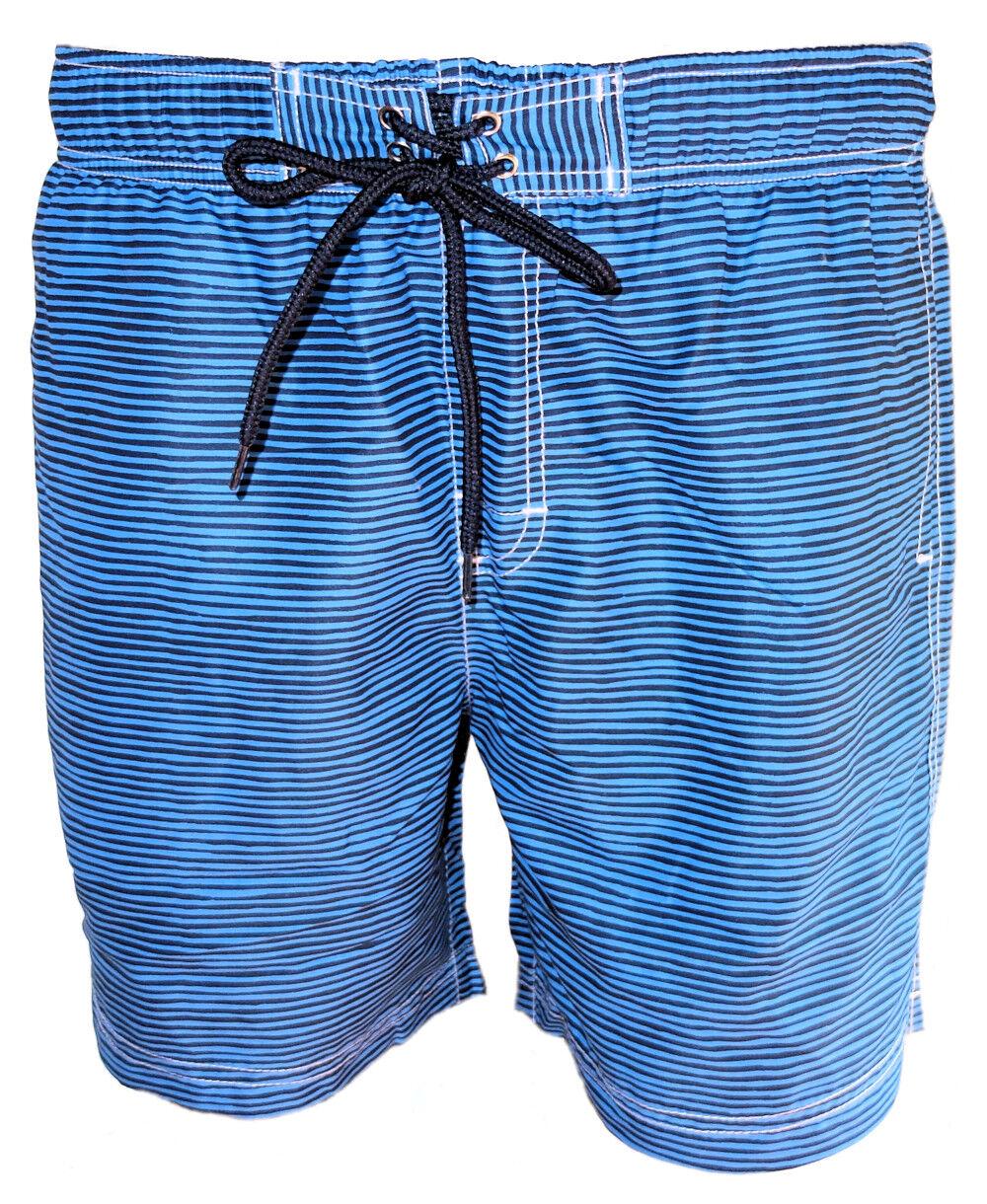Baileys Freizeit Swim Short Beach royalblue dunkelblue Streifendessin Gr. M-4XL