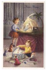 BUON NATALE Noël bambini enfants Kinder Presepe Crèche Nativity Weihnachtskrippe