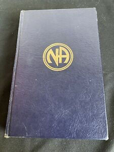 Narcotics-Anonymous-RARE-CARENA-1982-2ND-EDITION-BASIC-TEXT-Used-No-DJ