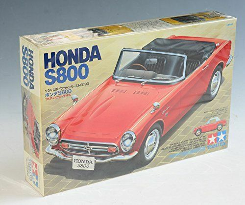 Tamiya 124 Honda S800 model kit 24190