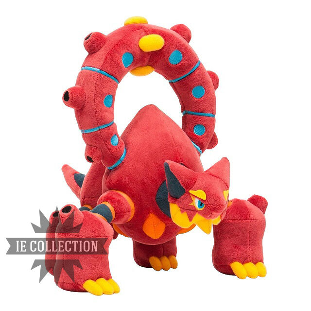 POKEMON XY VOLCANION SOFT TOY TOY TOY 27 CM snowman Center 721 plush doll figures a43f9d