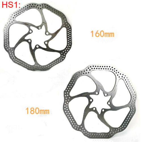 140//160//180//203mm MTB Bike Rotor Road Bicycle Disc Brake Rotor 6 Bolts Stainless