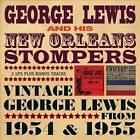 Vintage George Lewis 1954-1955 by George Lewis & His New Orleans Stompers (Clarinet)/George Lewis (Clarinet) (CD, Nov-2011, 2 Discs, Upbeat)