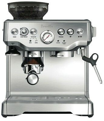 NEW Breville The Barista Espresso Coffee Machine 2 Litre BES870